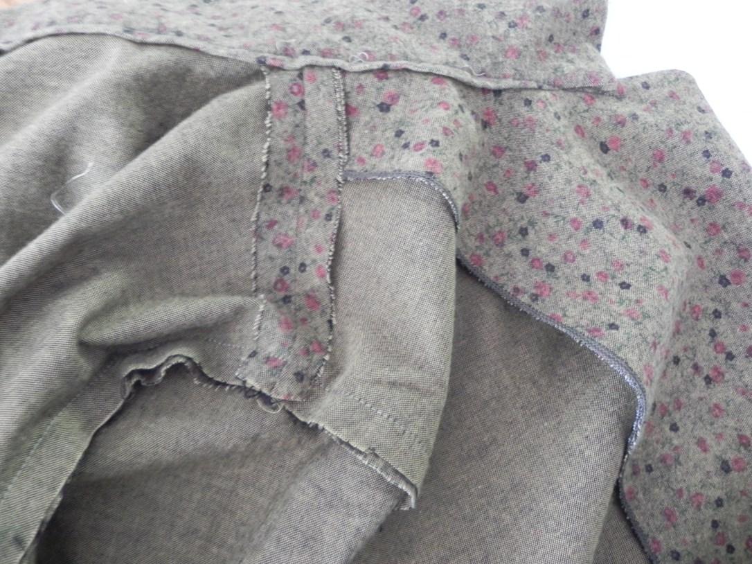 Intérieur de la veste