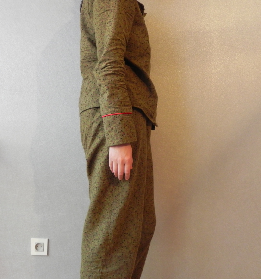 Pyjama ensemble profil