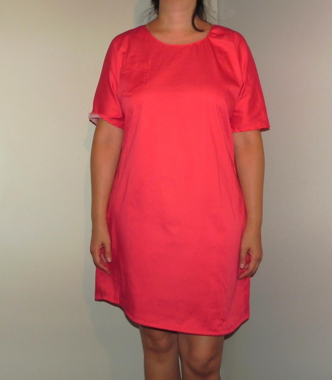 Robe Arume rouge fit général